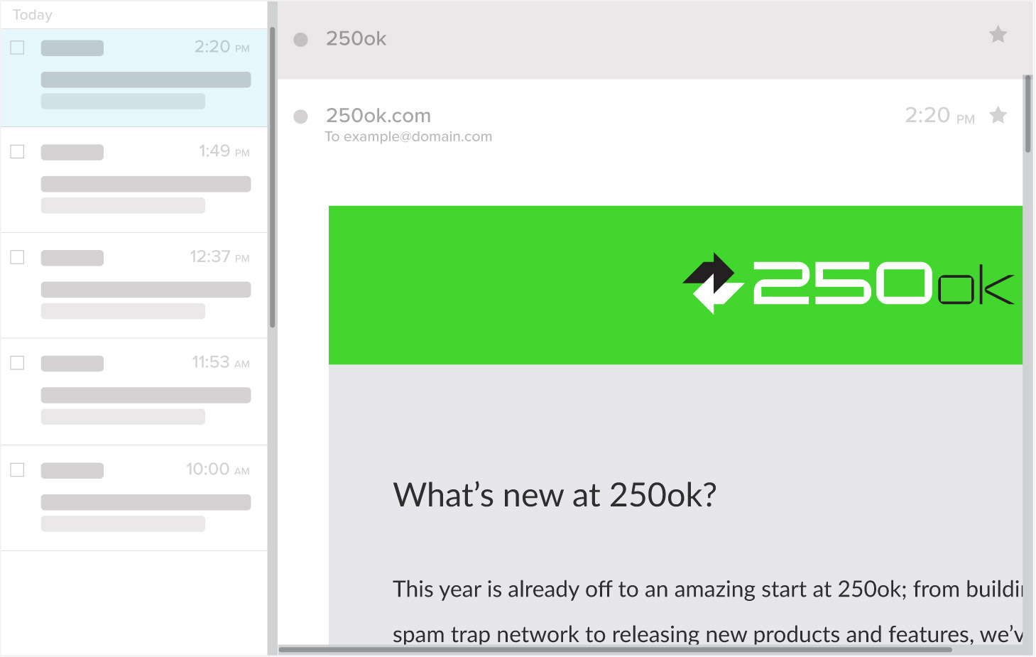 Email Viewport Example