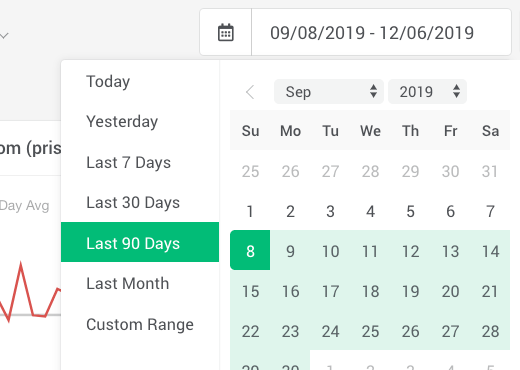 Flexible Date Controls